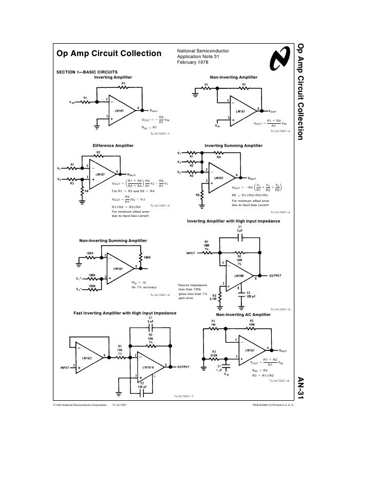 Circuitos Operacionales