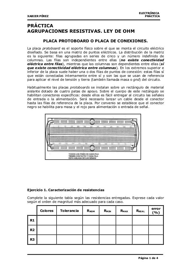 Circuitos resisitivos laboratorio - pr1