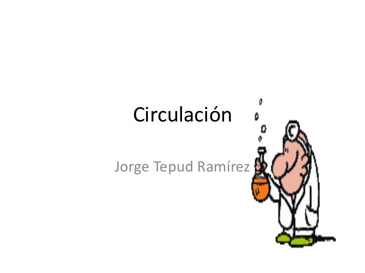 CirculaciónJorge Tepud Ramírez