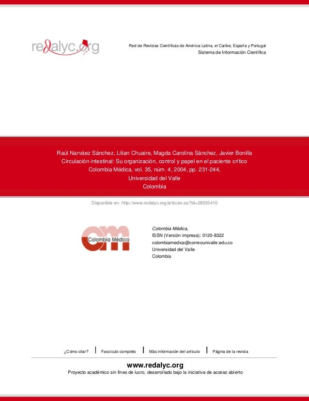 Disponible en: http://www.redalyc.org/articulo.oa?id=28335410 Red de Revistas Científicas de América Latina, el Caribe, Es...