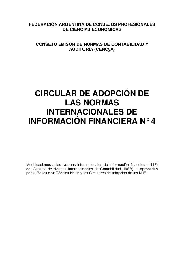 FEDERACIÓN ARGENTINA DE CONSEJOS PROFESIONALESDE CIENCIAS ECONÓMICASCONSEJO EMISOR DE NORMAS DE CONTABILIDAD YAUDITORÍA (C...