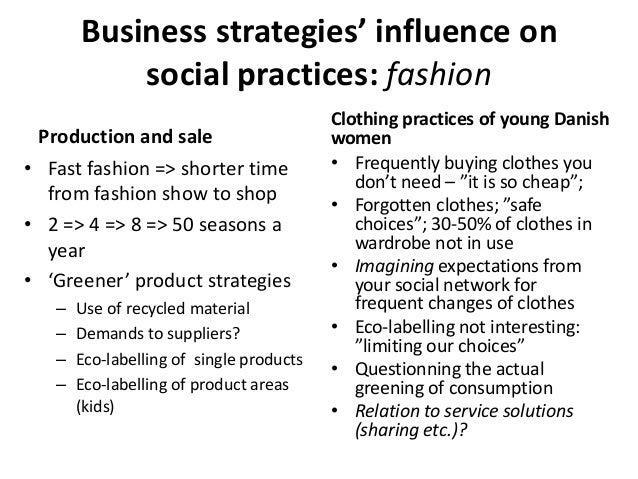 Economy and Fashion?