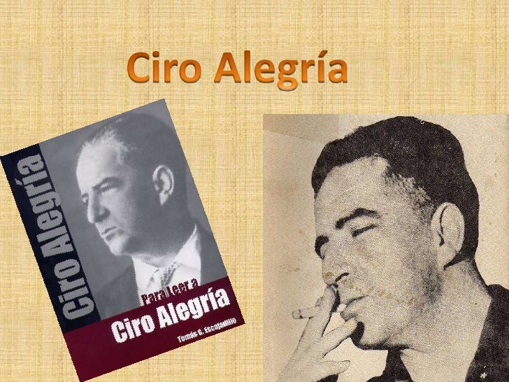 Ciro Alegría<br />