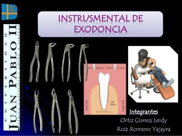 Instrumental Exodoncia