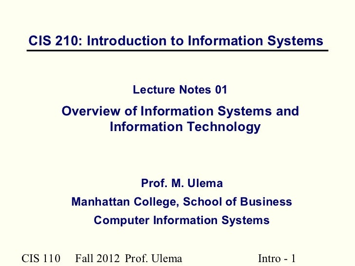 it255 introduction to information systems security