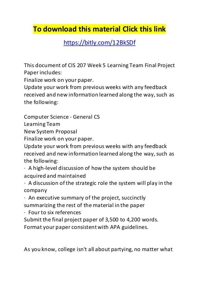 riordan new system proposal essay