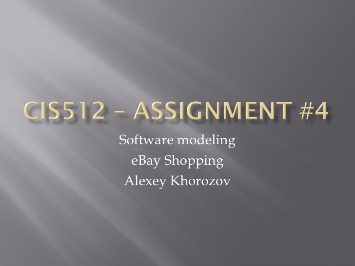 CIS512 – Assignment#4