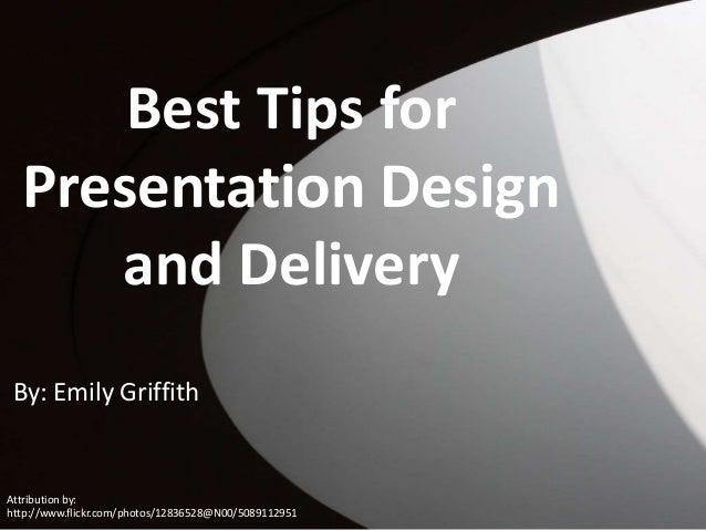 Presentation Design Tips Best Tips For Presentation