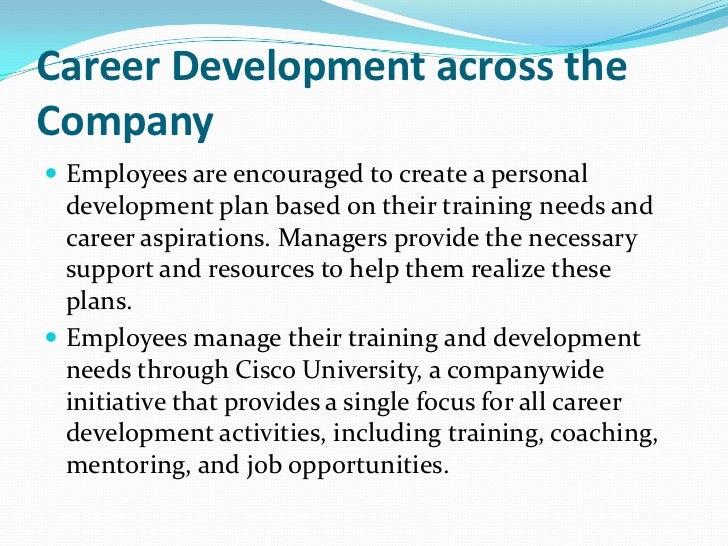Cisco - career development ... 13. Career Development ...