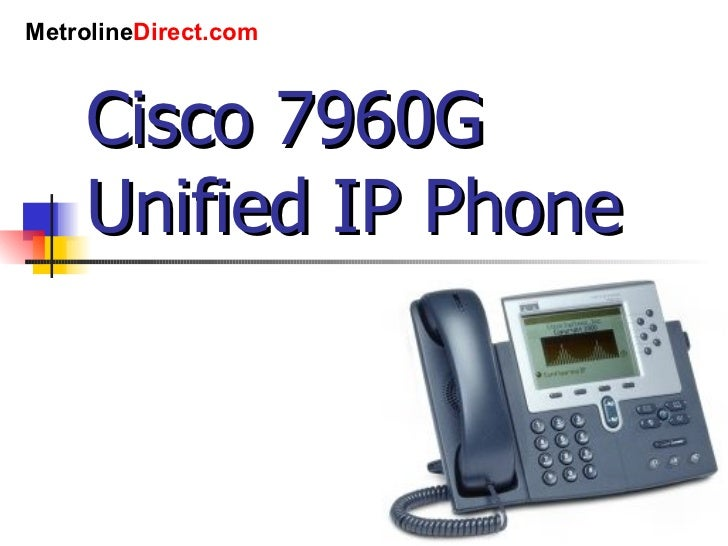 cisco ip 7960 user guide