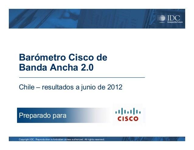 Cisco Broadband Barometer 2.0 Chile