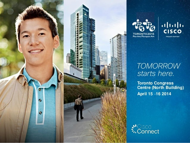 Cisco Connect Toronto - Digital Conference Guide