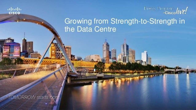 Growing from Strength-to-Strength in the Data Centre