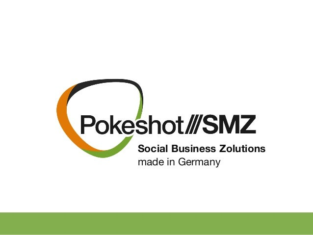 Social Business Zolutions made in Germany