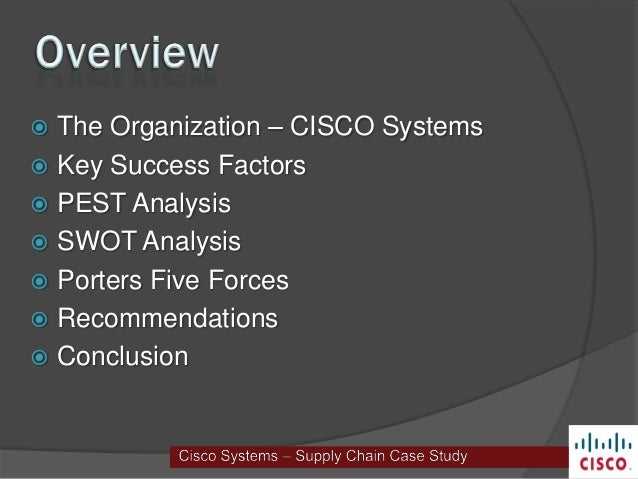 Case Study: Cisco Addresses Supply Chain Risk Management