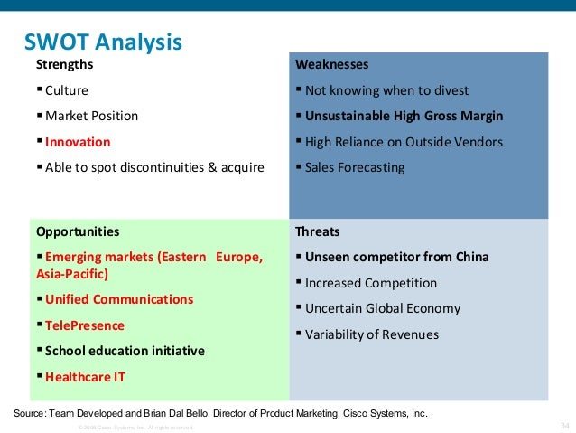 An In-Depth Analysis Of Cisco Systems