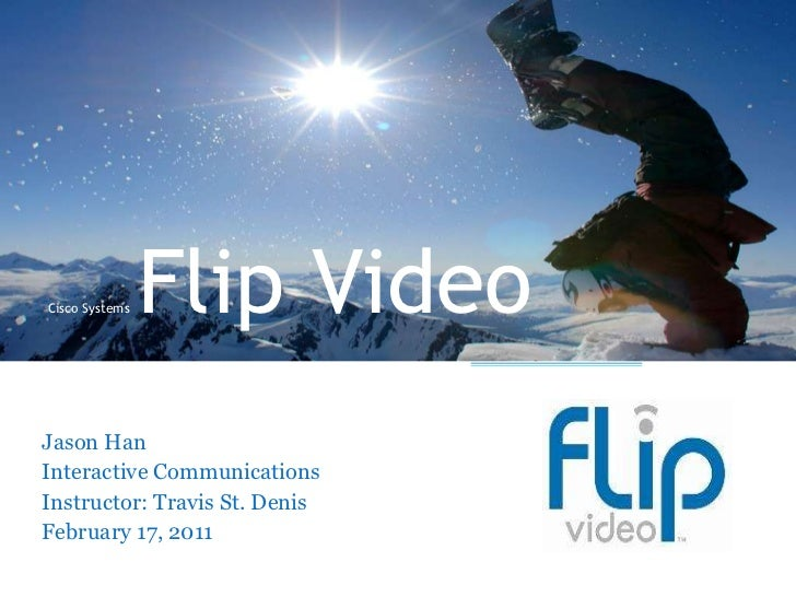 Cisco systems flip video