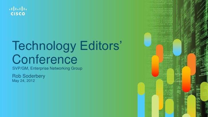 Cisco tec   rob soderbery - core enterprise networking