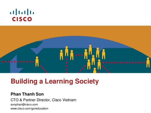 The Learning Society - presented at Building Learning Society: from Vision to Actions by UNESCO and Vietnam MoET