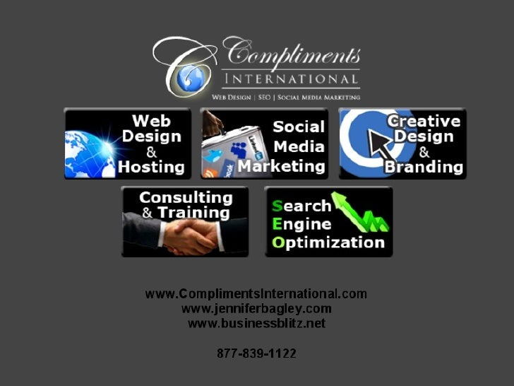 Compliments International Web Design, SEO and Social Media Marketing Services Overview