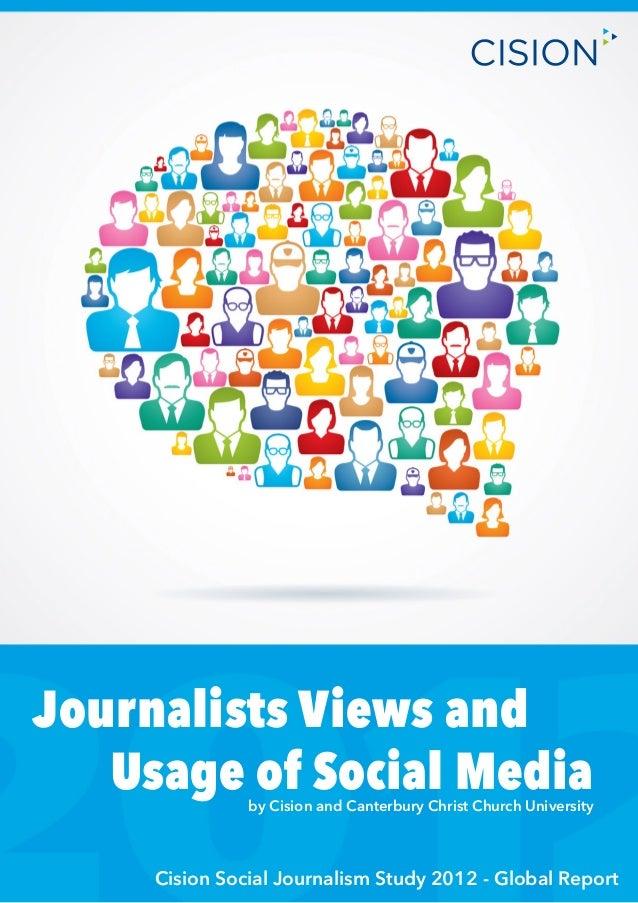 Cision social journalism study 2012   global report