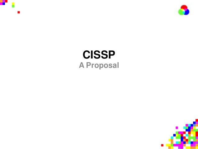 CISSPA Proposal