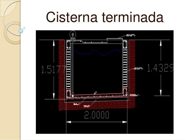 Cisternas for Lo espejo 0847 la cisterna