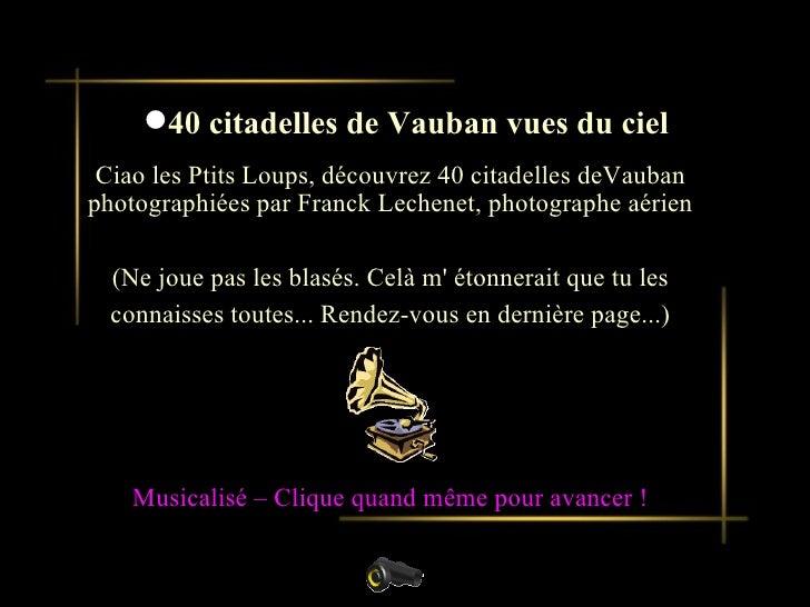 Citadelles De Vauban