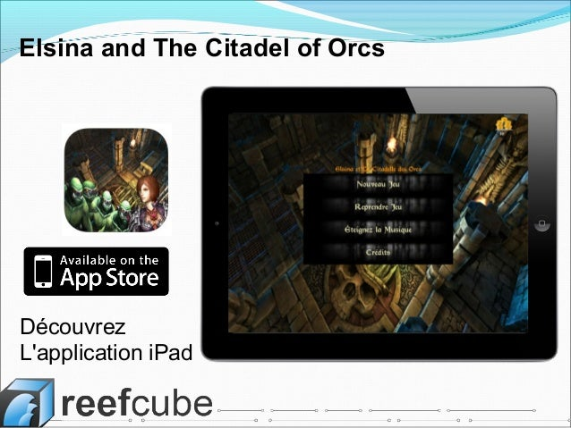 Découvrez L'application iPad Elsina and The Citadel of Orcs