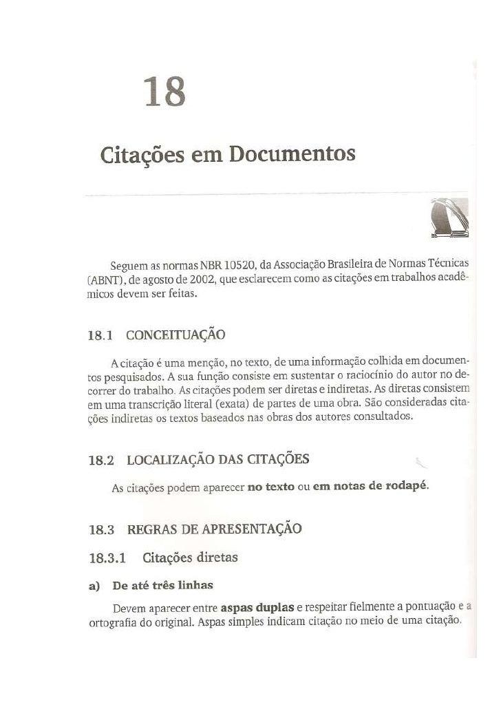 Citações em documentos ptcc