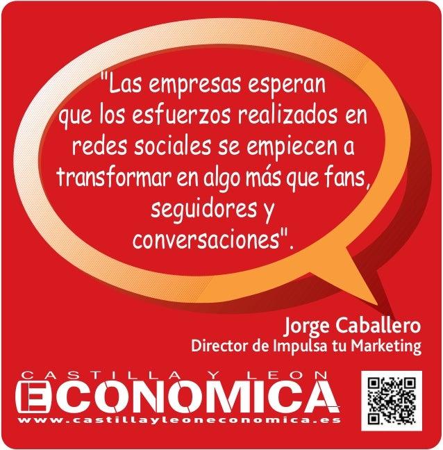 Cita de Jorge Caballero, Director de Impulsa tu Marketing