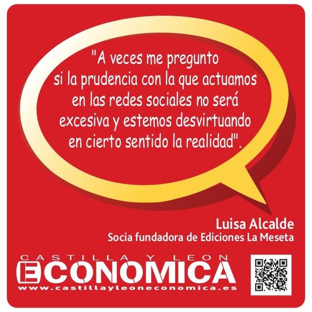 """Luisa Alcalde Socia fundadora de Ediciones La Meseta """"A veces me pregunto si la prudencia con la que actuamos en las redes..."""