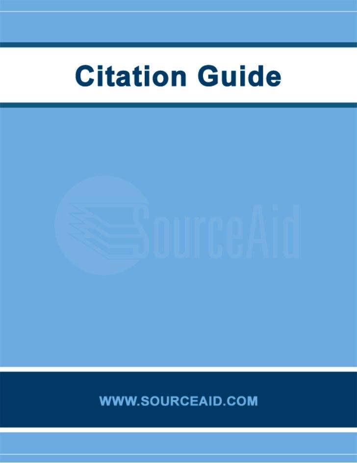 Citation Guide                           SourceAid, LLC                     www.SourceAid.comEdited by: Julia Johns, Tom F...