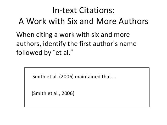 citing mla in text