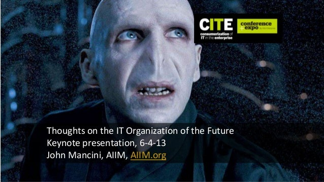 Is IT Really the Villain? - Future of Technology in the Enterprise