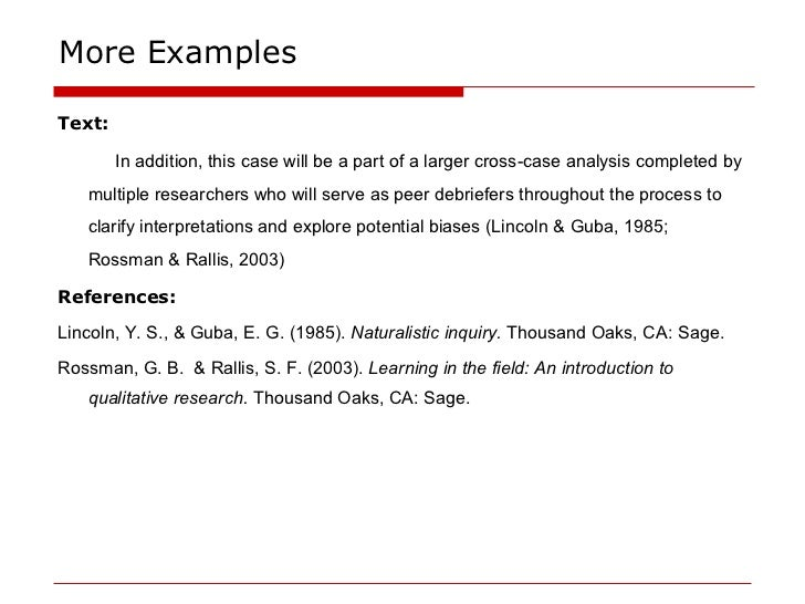 work cited apa format example Citation machine™ helps students and professionals properly credit the information that they use cite sources in apa, mla, chicago, turabian, and harvard for free.