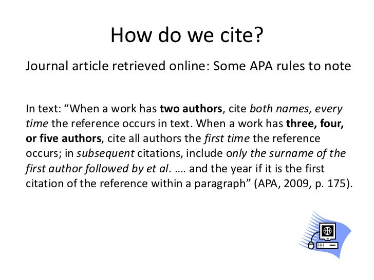 citing an online essay apa