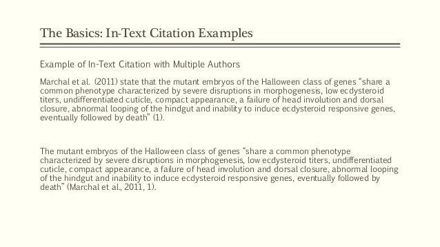 Text citation apa