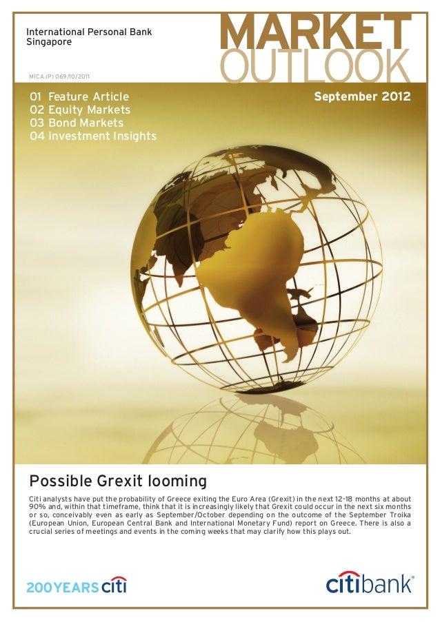 Citibank - Market Outlook September 2012