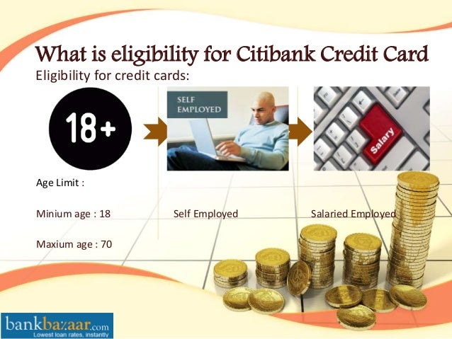 Apply for credit card eligibility