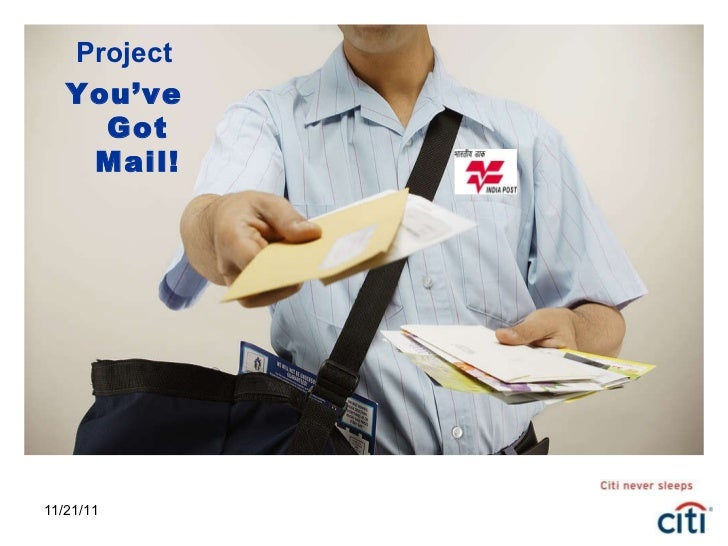 11/21/11 Project You've Got Mail!