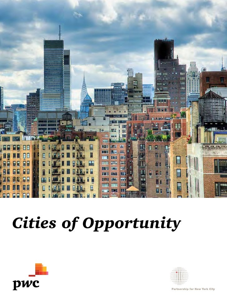 Cities of Opportunity