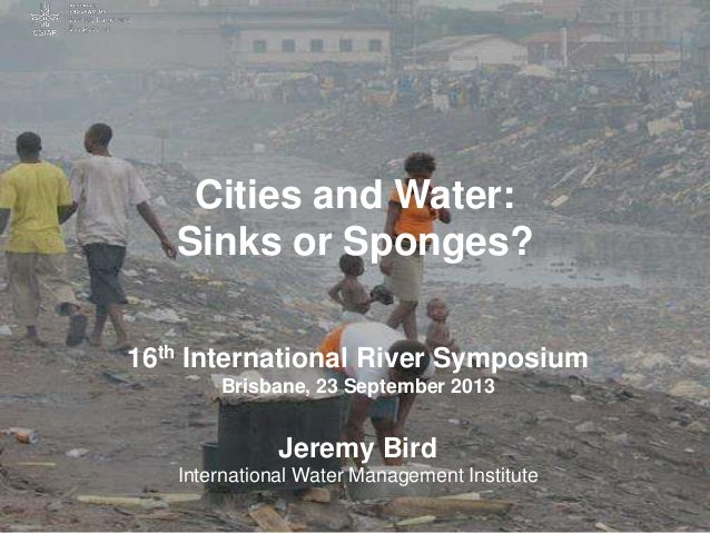 Cities and Water: Sinks or Sponges?