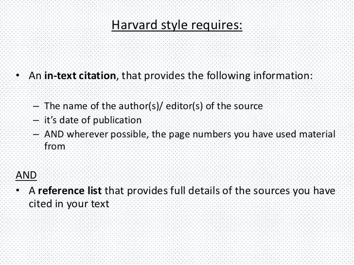 harvard referencing quotes in essays