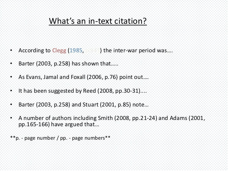 In-Text Citations (How to Cite Within your Paper) - APA