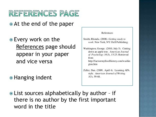 references format for research paper Home // learning apa style // frequently asked questions about apa can you help with my research for my psychology paper references sample papers.