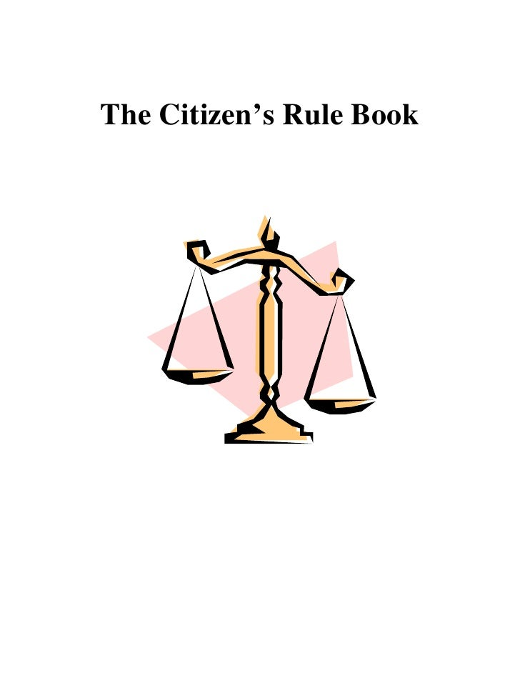 The Citizen's Rule Book
