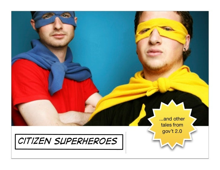 Citizen Superheroes (updated for the Executive Institute)