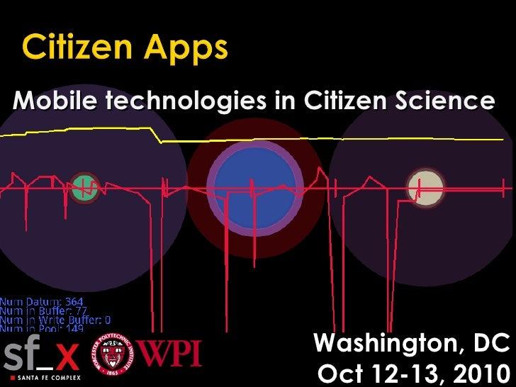 Citizen apps