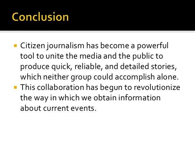 Journalism essays